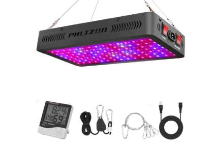 Phlizon Newest 1200W LED Plant Grow Light