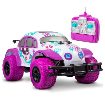 Pixie Cruiser Pink and Purple RC Remote Control Car Toy for Girls