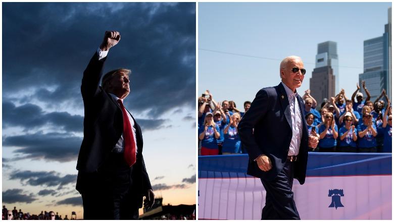 Trump Rally Size vs Biden Rally Size