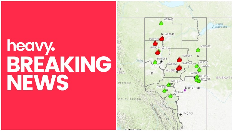 Alberta Canada Fire Map Alberta Fire Map & Evacuations Near Me for High Level & More