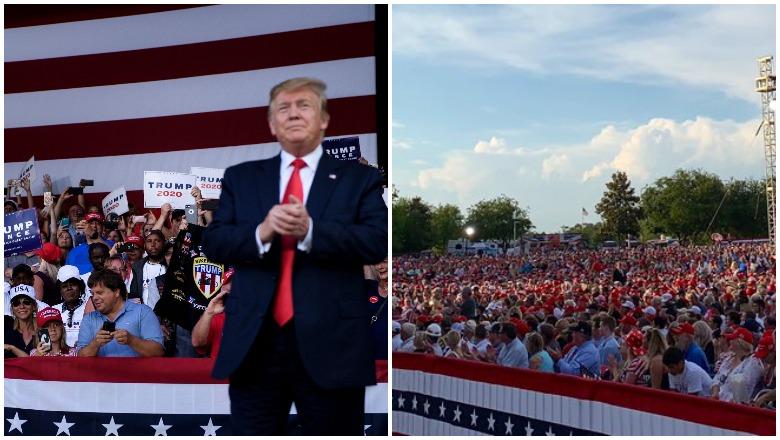 Trump Panama City Florida Rally Crowd Size