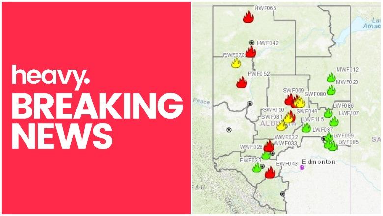 Alberta Fire Map