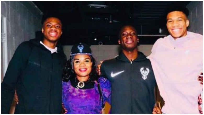 Giannis Antetokounmpo S Family 5 Fast Facts Heavy Com