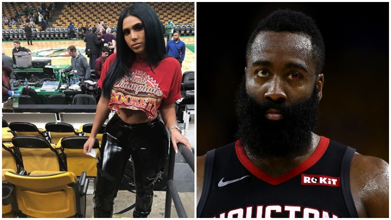 Does James Harden Have A Wife Is Rockets Star Married Heavy Com