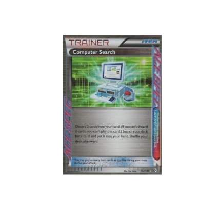 Pokemon - Computer Search (137/149) - BW - Boundaries Crossed - Holo