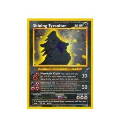 Pokemon - Shining Tyranitar (113) - Neo Destiny - Holo