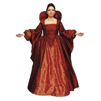 red elizabethan renaissance costume