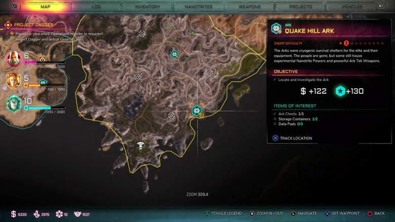 RAGE 2 Quake Hills Ark