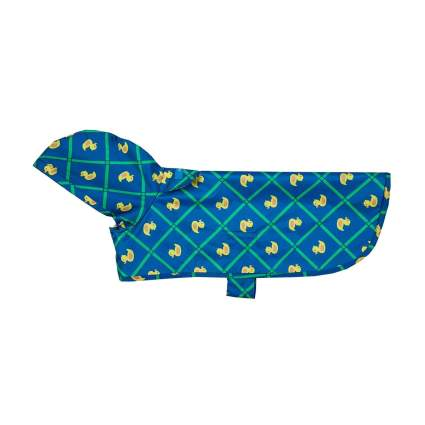 RC Pet dog rain poncho camping with dogs