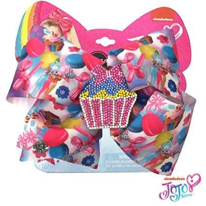 rhinestone cupcake jojo bow