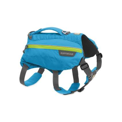Ruffwear singletrack dog backpack camping with dogs