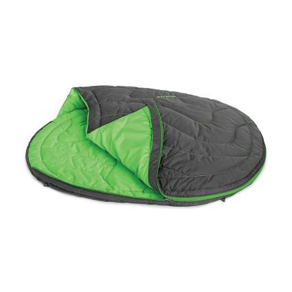 Ruffwear dog sleeping bag camping with dogs
