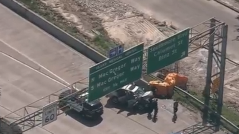 WATCH: Houston Police Chase
