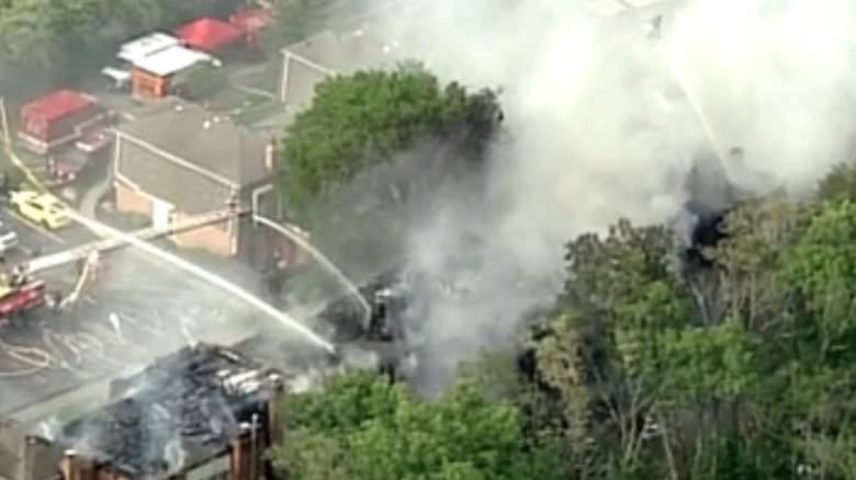 WATCH: Massive Fire in Fairfield, Ohio