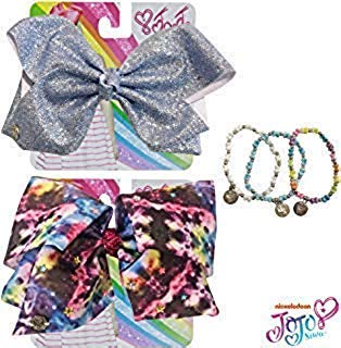 shiny jojo bows