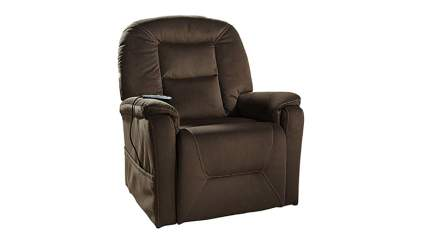 coffee colored lift recliner