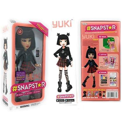 #STAPSTAR Poseable Dolls - Yuki - Create Your Own Looks with The Free Snapstar Studio App!