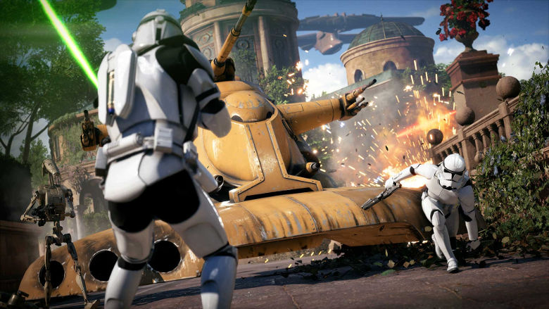 Star Wars Battlefront 2 Naboo Capital Supremacy