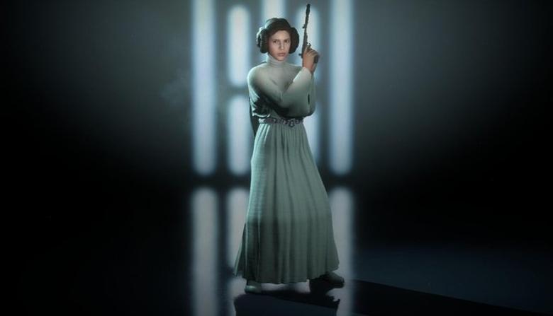 Star Wars Battlefront 2 Princess Leia skin