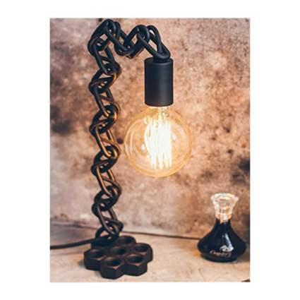 steampunk chain table lamp