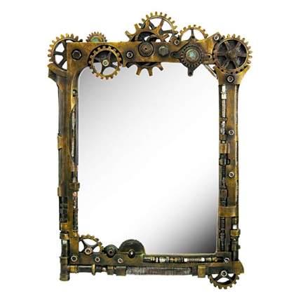 gearworks sculptural wall mirror