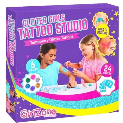 Temporary Glitter Tattoos Kit