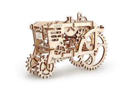 UGEARS Tractor Mechanical 3D Puzzle