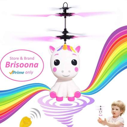 Unicorn Flying Ball RC Toy Light Up Flying Fairy Toys