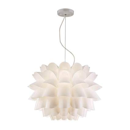 white flower pendant chandelier