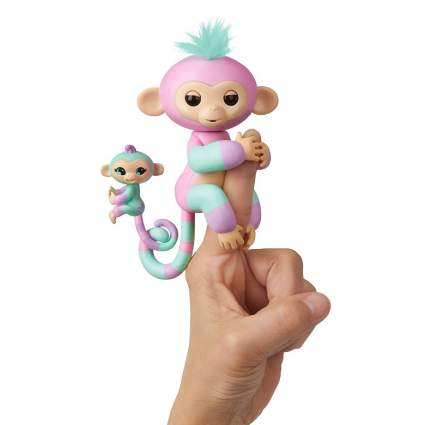 WowWee Fingerlings Baby Monkey & Mini BFFs - Ashley & Chance