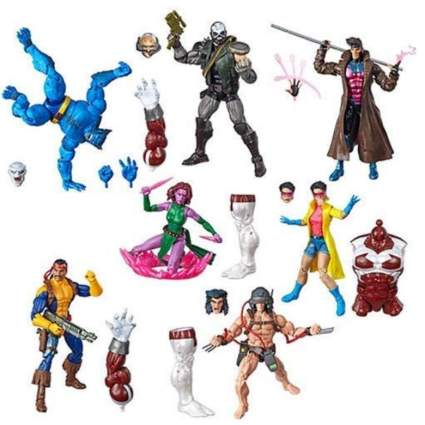 X Men Marvel Legends Wave 4 Set of 7 Figures (Caliban BAF)