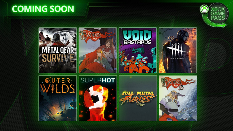Xbox Game Pass New Games May June 2019