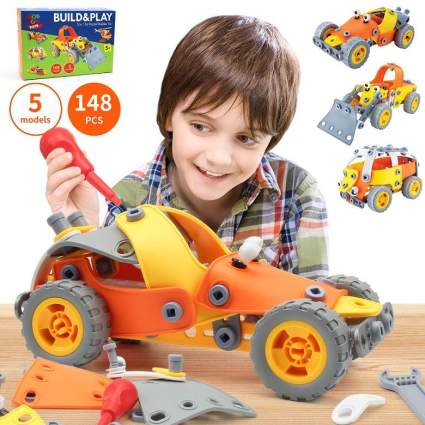 148 PCS 5-in-1 Build and Play Toy Set