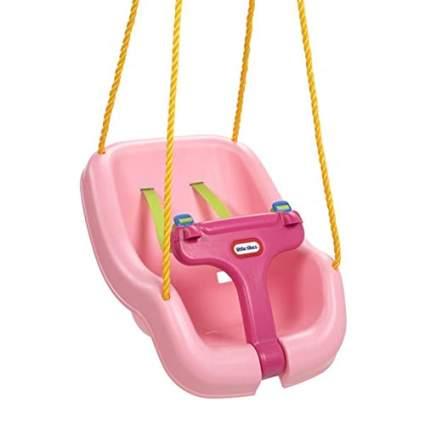 Little Tikes 2-in-1 Snug 'n Secure Swing, Pink