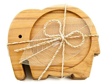 IYARA CRAFT Wood Coasters