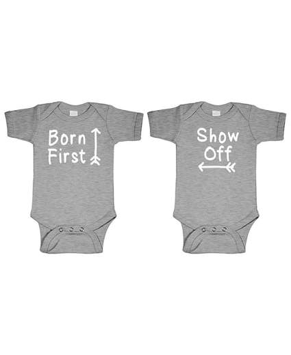 Born First - Show Off! - Twins Siblings