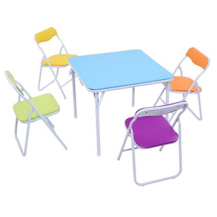 Costzon Kids Table & Chair Set
