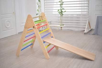 Smart Kids Wooden Little Climber With Slide