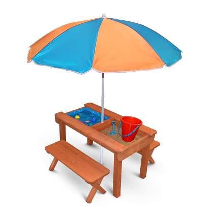 Convertible Picnic Table & Activity Sensory