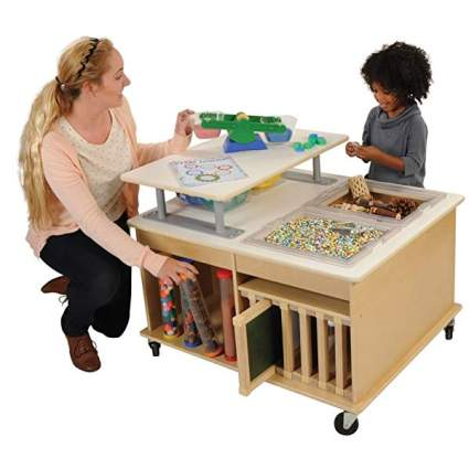 Kaplan Early Learning Company STEM Exploration Table