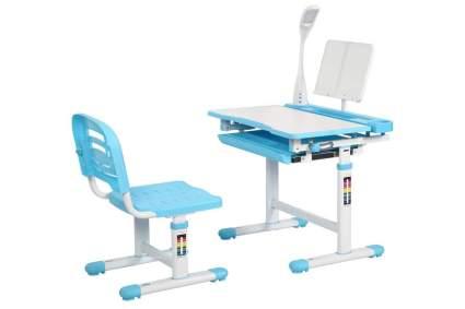 Blue desk for kids