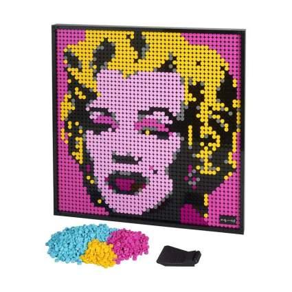 LEGO Art Andy Warhol's Marilyn Monroe