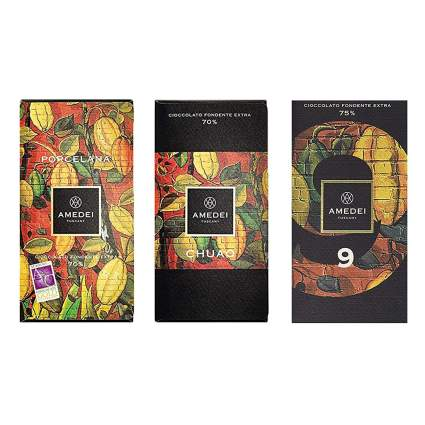 Amedei chocolate bars