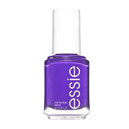 Purple essie nail polish