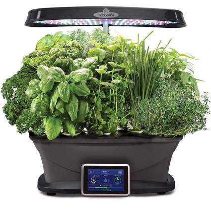 AeroGarden Bounty with Gourmet Herb Seed Pod Kit Gardening Gadget