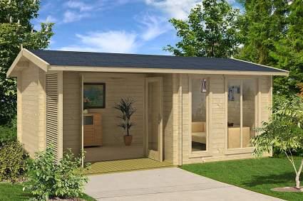 Allwood Sommersby 174 SQF Garden House Kit