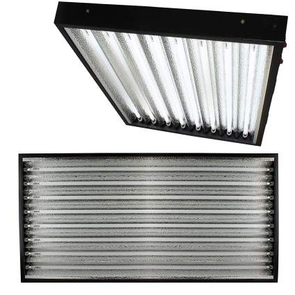 Apollo Horticulture T5 4 Feet / 8 Tube Commercial Fixture