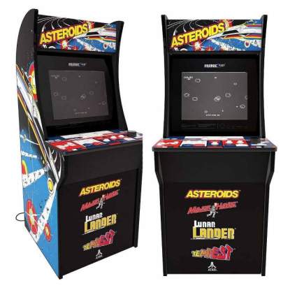 Arcade 1Up – Asteroids Deluxe Classic Arcade Game Cabinet for Kids and Adults