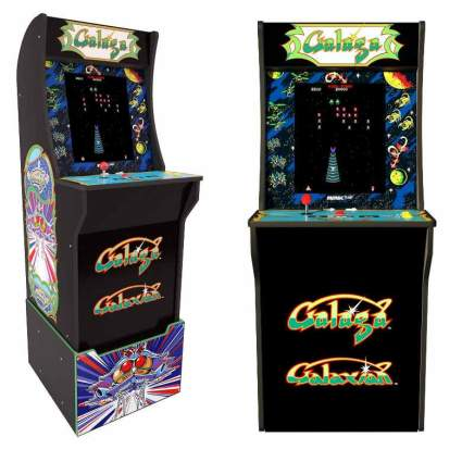 Arcade 1Up Galaga Deluxe Arcade System with Riser, 5 feet