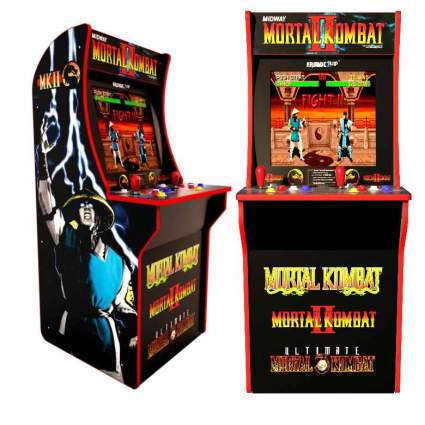 ARCADE1up Mortal Kombat, Mortal Kombat II, Mortal Kombat 3 (Available 2019)